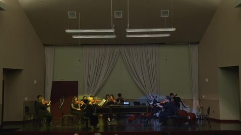 Thumbnail for entry Chamber Orchestra 11/12