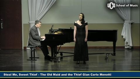 Thumbnail for entry Senior Recital - Amy Coplen