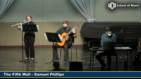 Thumbnail for entry Graduate Recital - Samuel Phillips