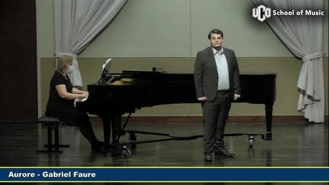 Thumbnail for entry Taylor Whittington - Senior Recital