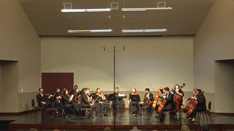 Thumbnail for entry Chamber Orchestra 10/3/17
