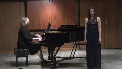 Thumbnail for entry Bailey Poslick - Senior Recital