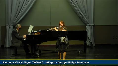 Thumbnail for entry Junior Recital - Kaitlin Lee