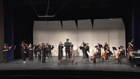 Thumbnail for entry Chamber Orchestra - A Night of English Music