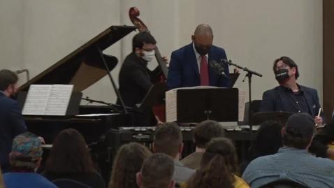 Thumbnail for entry Jazz Ensembles II & I - 3/22/21