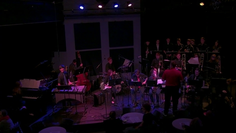 Thumbnail for entry Jazz Ensembles II and IV - 2/13