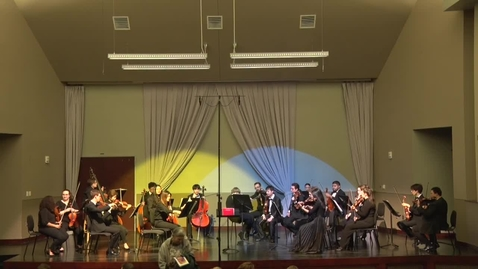 Thumbnail for entry Chamber Orchestra - Spring Concert