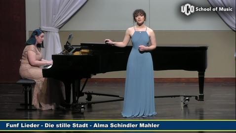 Thumbnail for entry Olivia Sharp - Junior Recital