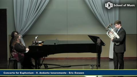 Thumbnail for entry Junior Recital - Matthew Cardwell