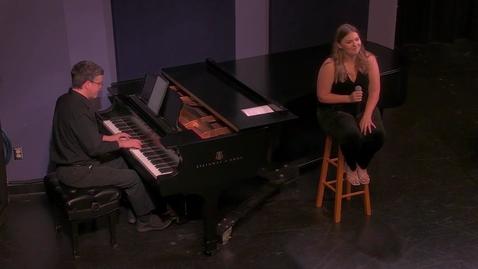 Thumbnail for entry Maura McMurray - Musical Theatre Recital