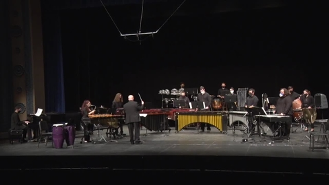 Thumbnail for entry Percussion Consort - Spring 2021