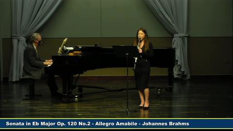 Thumbnail for entry Graduate Recital - Xiting Lin