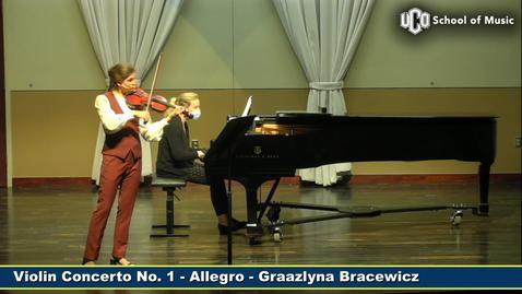 Thumbnail for entry Chazlen Rook - Junior Recital