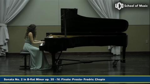 Thumbnail for entry Tanja Knezevic - Graduate Recital