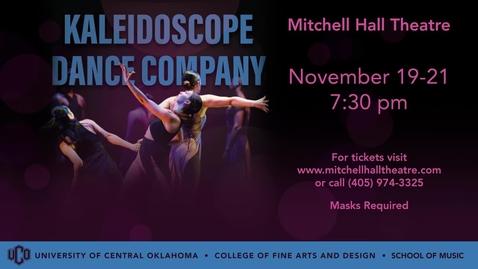 Thumbnail for entry Kaleidoscope Dance Company 11-19-2020