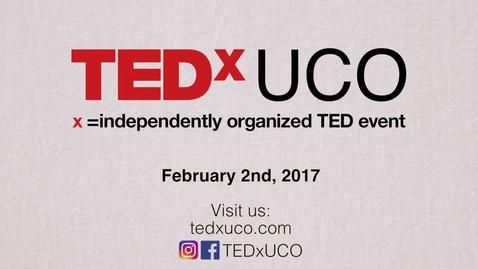 Thumbnail for entry TEDxUCO 2017 - Promo 1