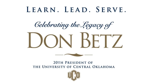 Thumbnail for entry The Betz Gala - President Betz Remarks 4-26-2019