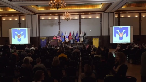 Thumbnail for entry US Army Staff Sgt. Travis Mills - Distinguished Speaker Series 4-12-2016
