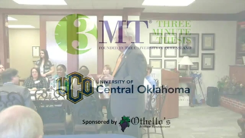 Thumbnail for entry Three Minute Thesis - 3-10-2016