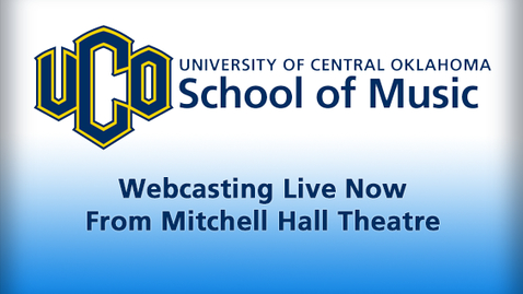 Thumbnail for entry School of Music - Mitchell Hall Theatre + Music Building Live