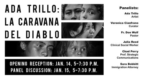 Thumbnail for entry Ada Trillo - La Caravana Del Diablo - Panel Discussion 1-25-2021