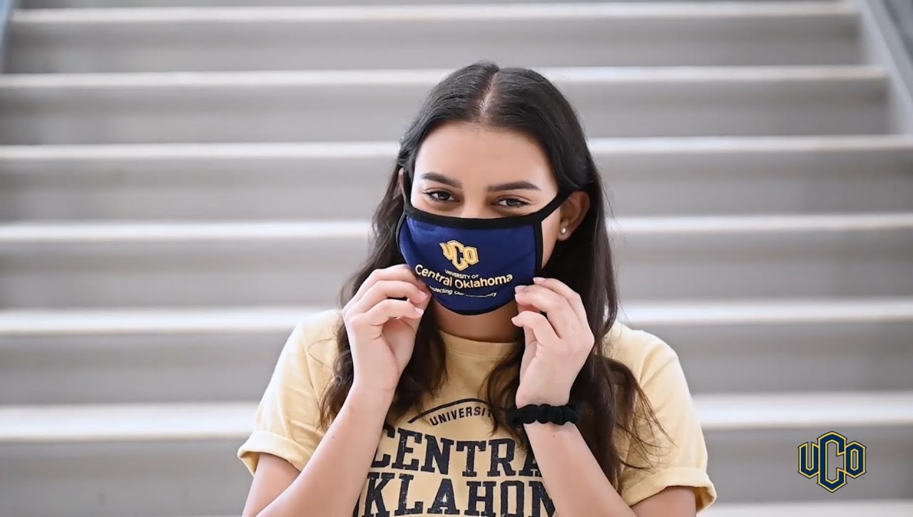 MASK UP! - The University of Central Oklahoma