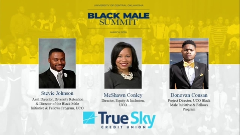 Thumbnail for entry Black Male Summit 2018 - Lawrence Ware 3-28-18