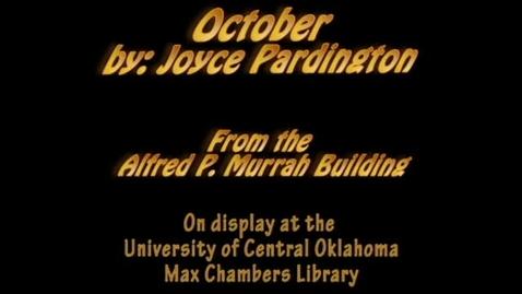 Thumbnail for entry Murrah Art: October