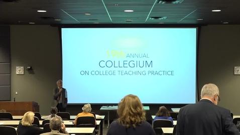 Thumbnail for entry 19th Annual Collegium 2018