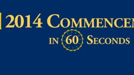 Thumbnail for entry UCO commencement in 60 seconds