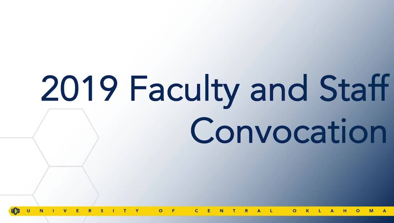 Faculty & Staff Convocation Fall 2019