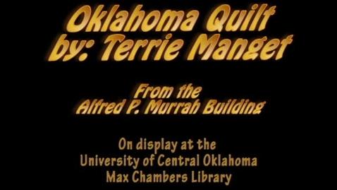 Thumbnail for entry Murrah Art: Quilt