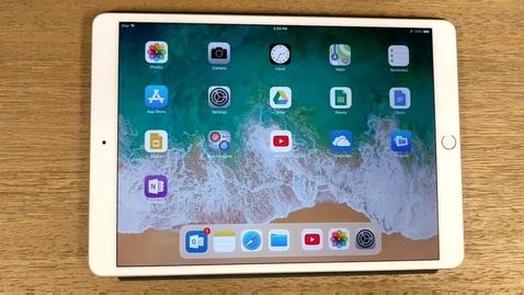 Thumbnail for entry iPad Screen Recording Tutorial
