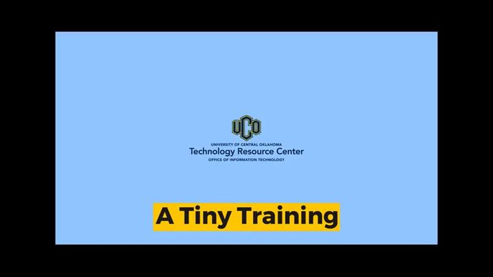 Thumbnail for channel Technology Resource Center Training Channel