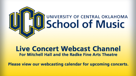 Thumbnail for entry School of Music Performances Live