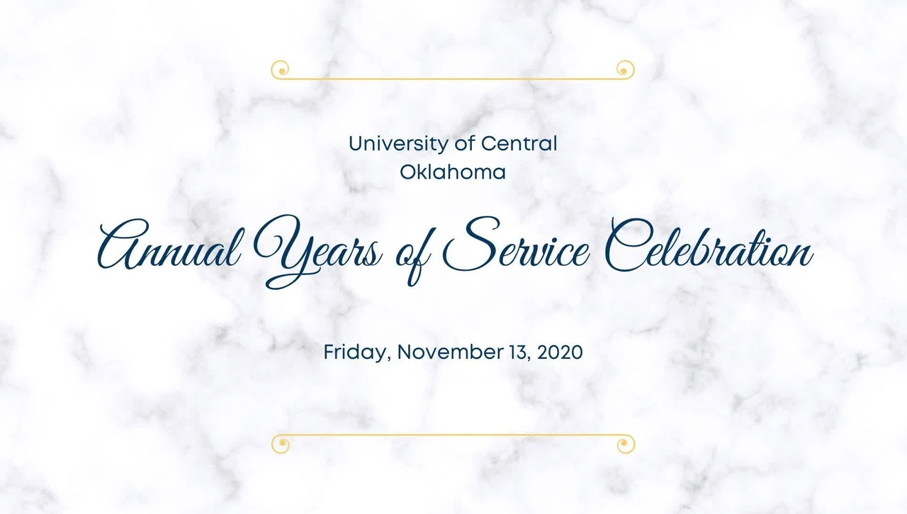 Annual Years of Service Celebration
