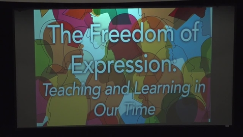 Thumbnail for entry Mr. Ken Ham, The Freedom of Expression: Teaching and Learning in Our Time
