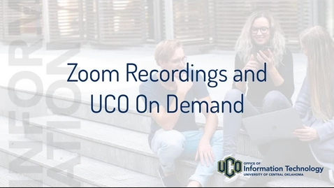 Thumbnail for entry Zoom Recording