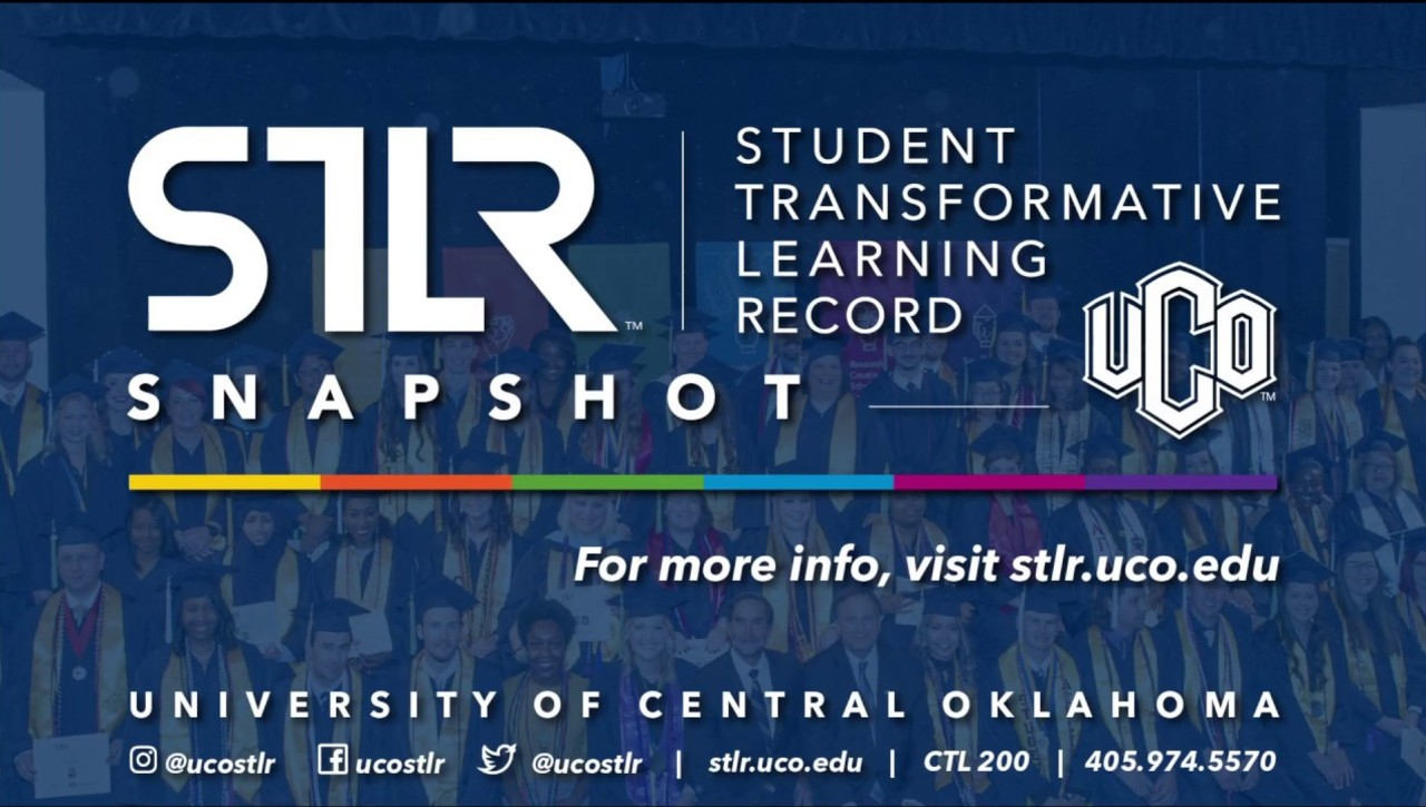 University of Central Oklahoma's STLR Snapshot How-to-Get-Started Video