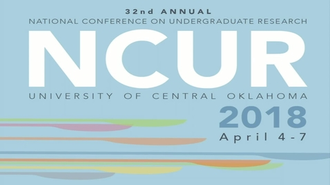Thumbnail for entry NCUR 2018 - Plenary Thursday 4-05-18
