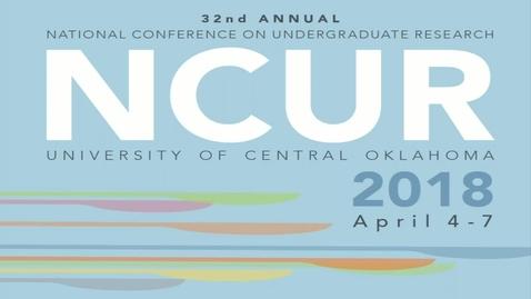 Thumbnail for entry NCUR 2018 - Plenary Thursday 4-05-18