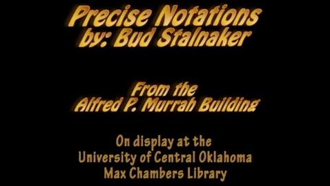 Thumbnail for entry Murrah Art: Precise Notations