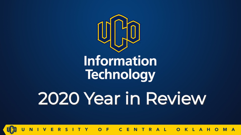 Thumbnail for entry OIT 2020 Year in Review