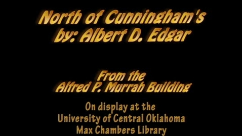 Thumbnail for entry Murrah Art: North of Cunninghams