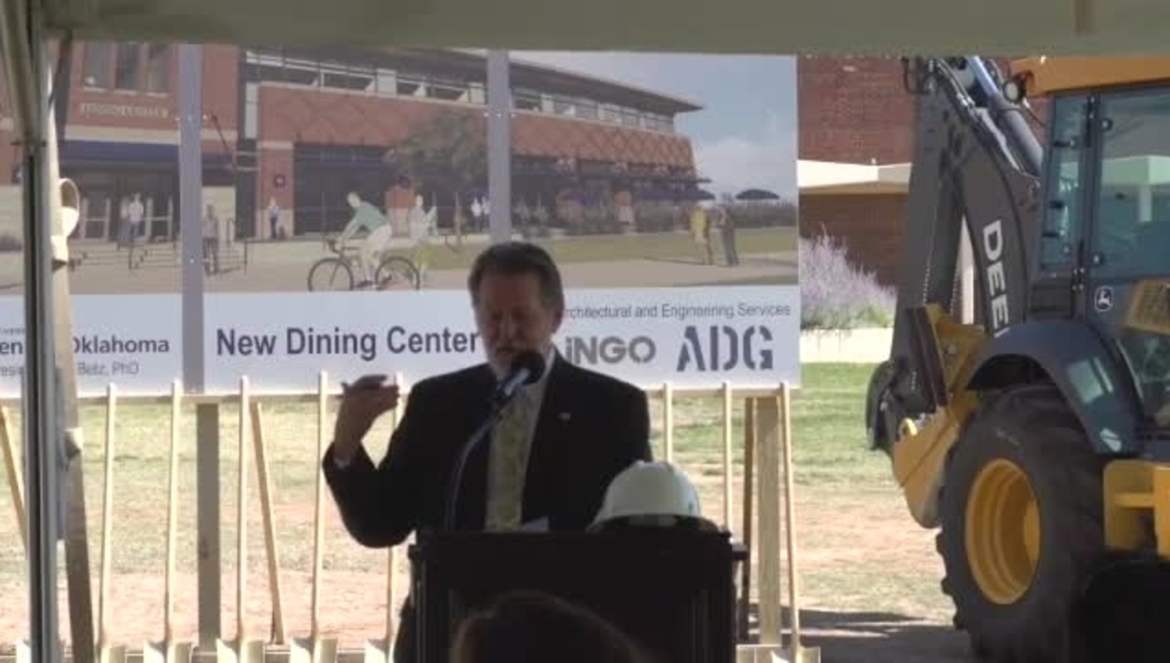 New Dining Center Groundbreaking
