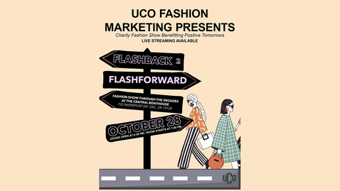 Thumbnail for entry UCO Charity Fashion Show 10-28-2021