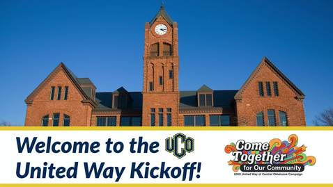 Thumbnail for entry United Way Campaign Kickoff 10-01-2020