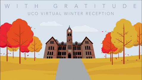 "Thumbnail for entry UCO ""With Gratitude Reception"" November 2020"