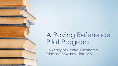Thumbnail for entry Roving Librarian Program