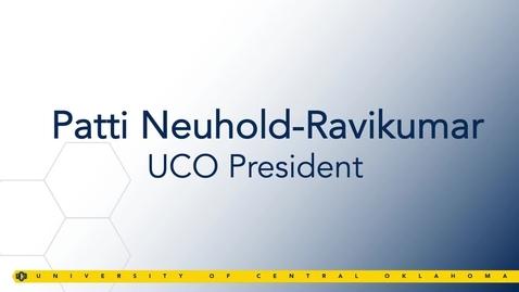 Thumbnail for entry President Neuhold-Ravikumar Remarks - Faculty & Staff Convocation 2019